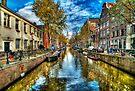 Amsterdam in Autumn by Svetlana Sewell