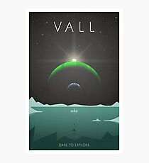 Kerbal Space Program Poster - Vall Photographic Print