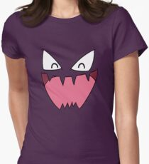Haunter Face Womens Fitted T-Shirt