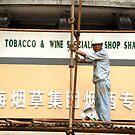 Shanghai scaffoloding by eyesoftheeast
