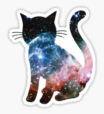 Thor's Helmet Nebula | Space Kitty Sticker