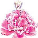 Floral Wonder Frau von Olga Chetverikova
