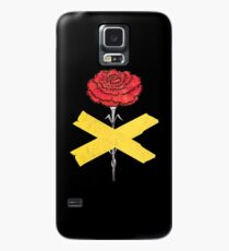 rebellische rote Nelke Hülle & Skin für Samsung Galaxy