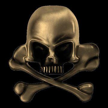Freaky Logo - Skull by cadcamcaefea