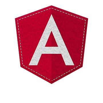 Angular Logo JS JavaScript Developer by vladocar
