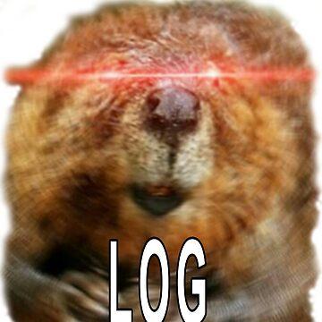 Beaver Log Meme by Huschild