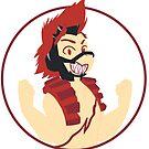 Red Riot - Boku No Hero Academia by tonguetiedart