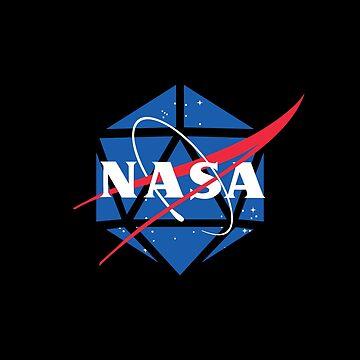 NASA d20 by CCCDesign