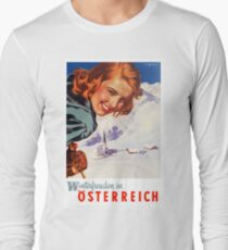 Winter delights in Austria Long Sleeve T-Shirt