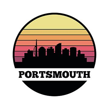 Portsmouth Skyline (England) by SvenHorn