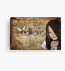 Believe... Canvas Print