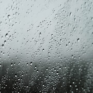 Rain on a window by franceslewis