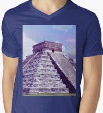 El Castillo Men's V-Neck T-Shirt