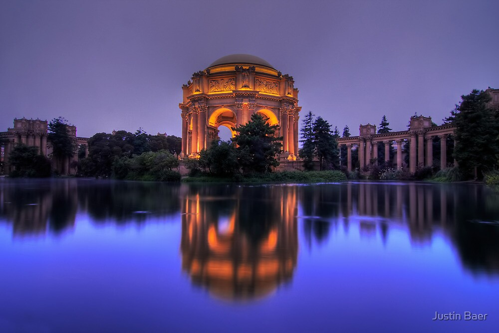 Palace of Fine Arts by Justin Baer