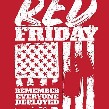 Red Friday American Military by StudioMetzger