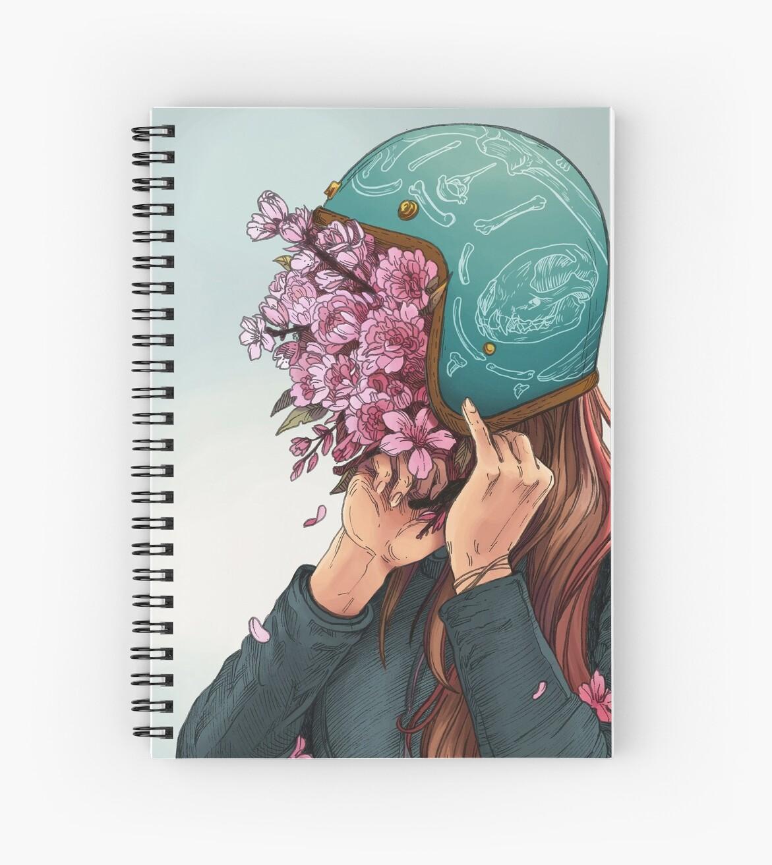 «Una cabeza llena de margaritas y ensueños - Women Who Ride» de Amanda Zito