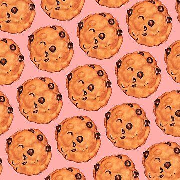 Cookie Pattern - Pink by KellyGilleran