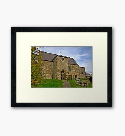 All Saints Church - Old Byland Framed Print
