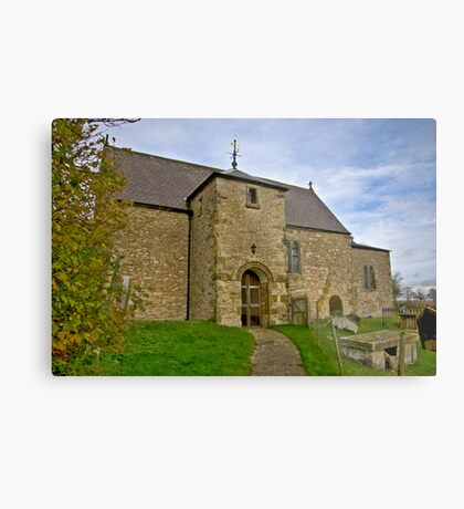 All Saints Church - Old Byland Metal Print
