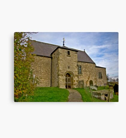 All Saints Church - Old Byland Canvas Print