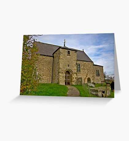 All Saints Church - Old Byland Greeting Card