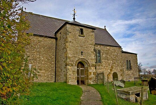 All Saints Church - Old Byland by Trevor Kersley