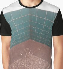 #flooring #bathroom #tile #architecture #square #pattern #mosaic #clean #colorimage #nopeople #wallbuildingfeature #builtstructure #city Graphic T-Shirt