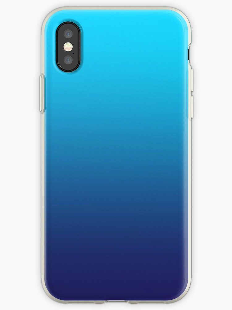 more photos 135ac a7552 'OCEAN - Plain Color iPhone Case and Other Prints' iPhone Case by burning