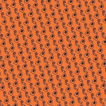 Halloween Candy Pattern by creepyjoe