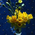 Echos of Spring - A Bunch of Golden Daffodils by Kathryn Jones