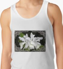 Elegant Orchids ~ Cluster of Three Tank Top