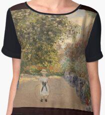 Claude Monet, Water Lilies, Waterlilies Beloved Art Chiffon Top