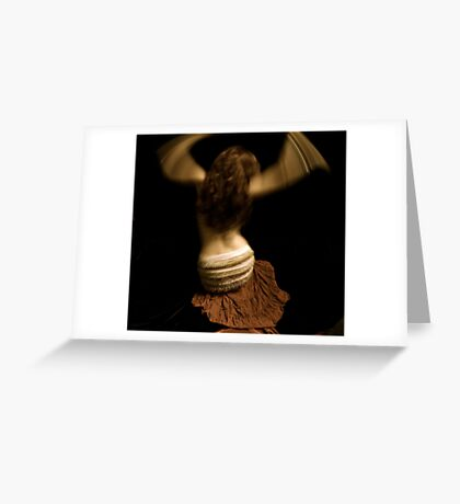 Dancer Greeting Card