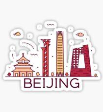 Beijing, China Sticker