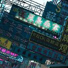 Hong Kong Neon Signs by Guillaume Marcotte