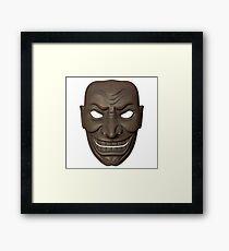Freaky Samurai Mask #1 Framed Print