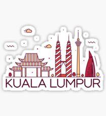 Kuala Lumpur, Malaysia Sticker