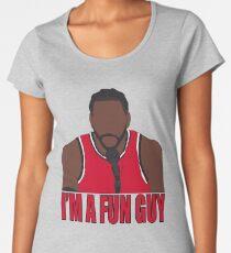 """Kawhi Leonard """"Ich bin ein lustiger Typ"""" Frauen Premium T-Shirts"""