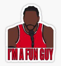 """Kawhi Leonard """"I'm A Fun Guy"""" Sticker"""