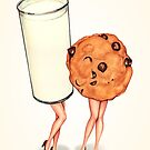 Milk & Cookie Girls by Kelly  Gilleran