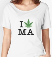 I [weed] Massachusetts Women's Relaxed Fit T-Shirt