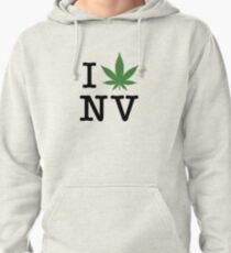 I [weed] Nevada Pullover Hoodie