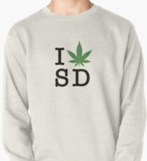 I [weed] San Diego Pullover