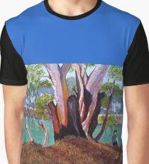 Camiseta gráfica Agujero de pesca favorito