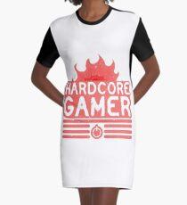 HARDCORE GAMER Graphic T-Shirt Dress