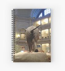 Henry the NMNH elephant Spiral Notebook