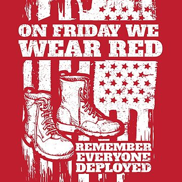 We Wear Red Friday Soldier Boots by StudioMetzger