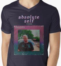 """Absolute Self"" ARTWORK Design Men's V-Neck T-Shirt"