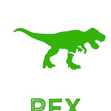 Papa Saurus Rex Shirt Funny Grandpa Dinosaur t-shirt by worksaheart