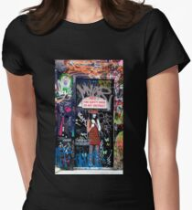 Clever Graffiti Women's Fitted T-Shirt